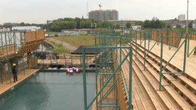 Anderlecht : une piscine en plein air dès le 1er juillet au quai de Biestebroeck