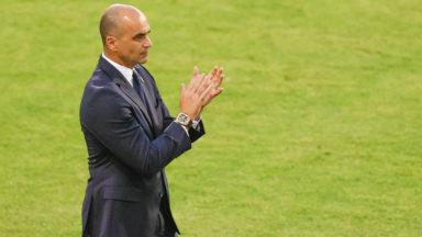 """Roberto Martinez après le partage contre la Grèce: """"Nous avons besoin de ces matchs amicaux"""""""