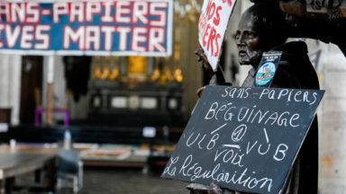 Occupation de l'ULB : un gréviste sans-papier a tenté de se suicider