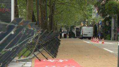 Sécurité maximale : Bruxelles se prépare à l'arrivée de Joe Biden