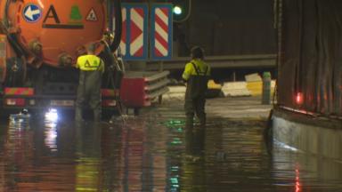 Tunnels inondés, trafic perturbé, trams déviés : retour sur la journée des pompiers bruxellois