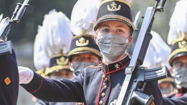 La princesse Elisabeth défile, la princesse Delphine en tribune… : les moments forts du défilé de la Fête nationale