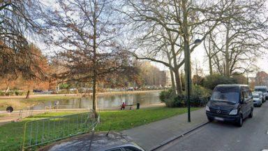 Laeken : un policier à l'eau pour rattraper un voleur de vélos