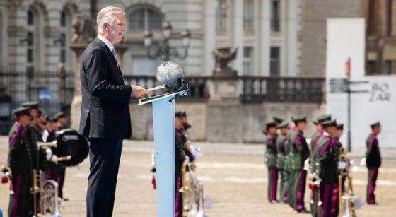 Fête nationale 2020 Discours Roi Philippe - Belga Benoit Doppagne