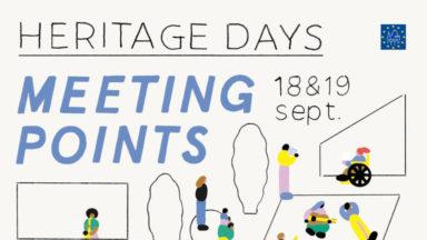 40.000 visites ont été enregistrées durant ce week-end des Heritage Days