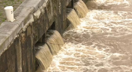 Inondations Canal de Bruxelles Pluie - Capture BX1