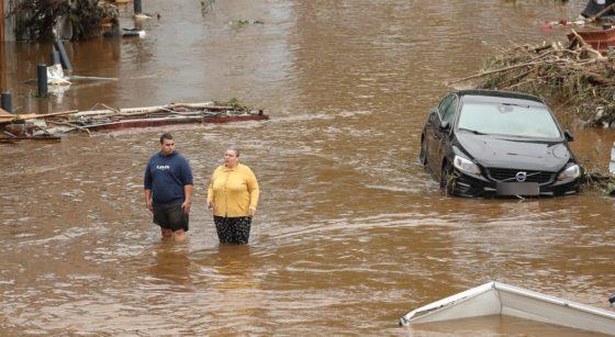 Inondations Pepinster - Belga Bruno Fahy