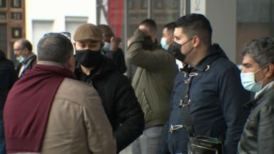Les chauffeurs de LVC manifestent face au statu quo du Plan Taxi