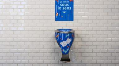 Des nouvelles poubelles bientôt installées dans les stations de métro de la Stib