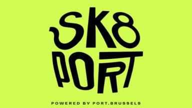 Sk8 Port, le nouveau skate park inauguré sur le domaine du Port de Bruxelles