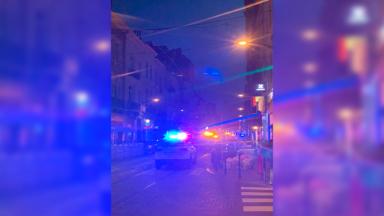 Ixelles : un petit incendie, rue du Bailli, a mobilisé les pompiers mercredi soir