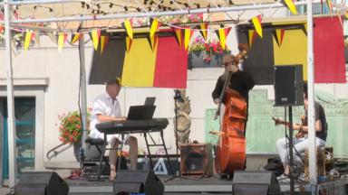 Koekelberg : pour la Fête nationale, une scène de jazz mobile sillonne les rues