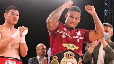 Boxe : le Bruxellois Ryad Merhy conserve son titre de champion du monde WBA des lourds-légers