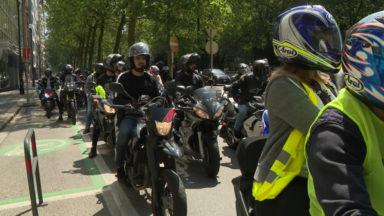 Décès de Sabrina et Ouassim : des motards se rassemblent pour demander l'inculpation des policiers