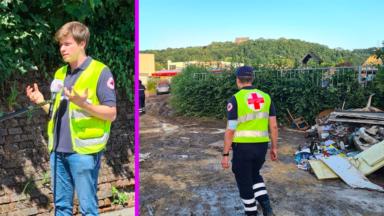 Inondations : un responsable bruxellois de la Croix-Rouge raconte son expérience auprès des sinistrés