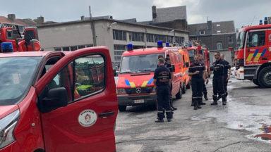 Inondations : 32 pompiers de Bruxelles en route vers la province de Liège