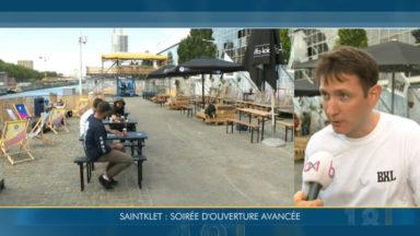 Le quai des Péniches devient SaintKlet summer