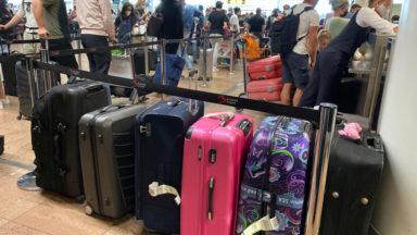 Retards à Brussels Airport : un problème technique a interrompu la gestion des bagages