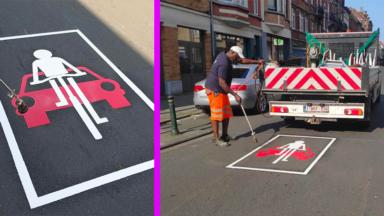 À Uccle, la rue Vanderkindere donne désormais la priorité aux cyclistes