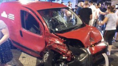 Schaerbeek : un cycliste renversé par un automobiliste sous influence et sans permis