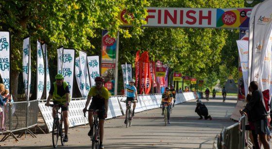 Arrivée BXL Tour Cyclistes 2020 - Belga Nicolas Maeterlinck