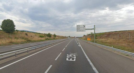 Autoroute A35 Barr - Capture Google Street View