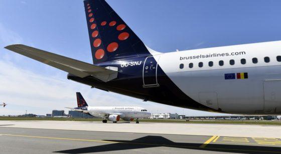 Avions Brussels Airlines Brussels Airport - Belga Eric Lalmand