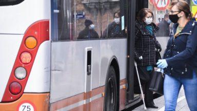 Port du masque à la Stib : les contrôles seront renforcés, des amendes jusqu'à 250 euros