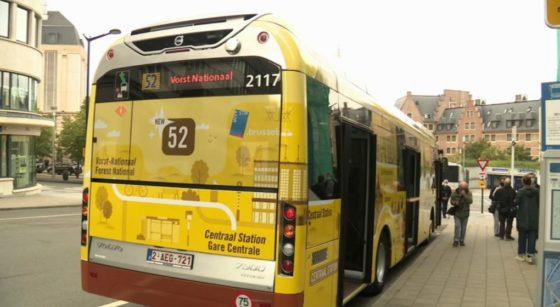 Bus Forest National Ligne 52 - Capture BX1
