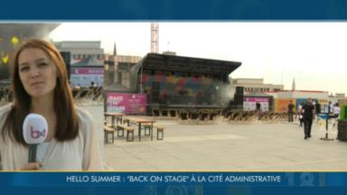 """""""Back on stage"""" : retour de la musique sur scène à Bruxelles"""