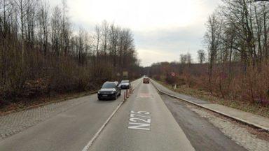 Une nouvelle piste cyclable en construction entre Groenendael et Watermael-Boitsfort