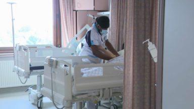 Plus de 1.000 patients Covid hospitalisés, dont 224 à Bruxelles, une première depuis début juin