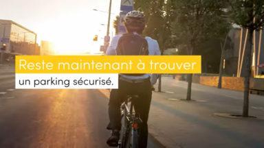 Cycloparking lance une campagne de promotion dans les stations Bourse et De Brouckère