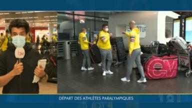 Jeux Paralympiques : les athlètes belges s'envolent pour Tokyo
