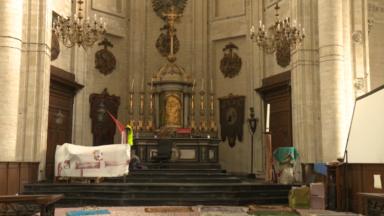 Les occupants de l'église du Béguinage priés de quitter les lieux