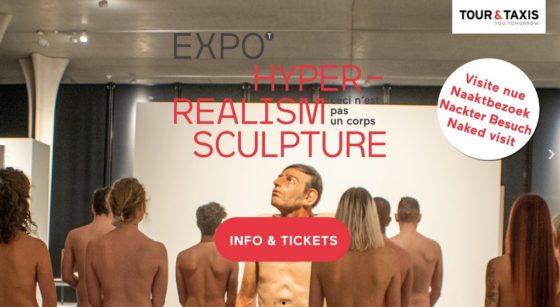 Exposition Hyperrréalisme Visite Nue