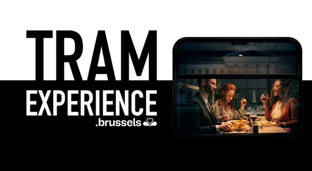Illustration Tram Experience - Visit Brussels