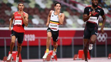 Jeux Olympiques : Jonathan Sacoor éliminé en demi-finales du 400 m