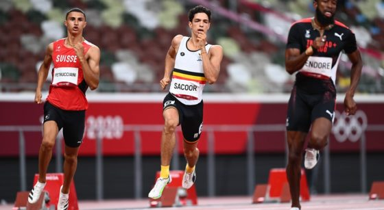 Jonathan Sacoor 400 m - Jeux Olympiques Tokyo 2020 - Belga Jasper Jacobs