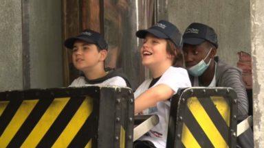 Une centaine d'enfants malades profitent des joies de la Foire du Midi