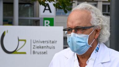 Pour Marc Noppen, directeur général de l'UZ Brussel, il faut rendre la vaccination obligatoire pour les étudiants