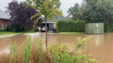 Inondations à Meise, au nord de Bruxelles : le plan catastrophe enclenché (vidéo)