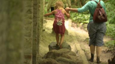 """Le sentier """"Surprenez vos pieds"""" au Jardin botanique de Meise propose de multiples sensations"""