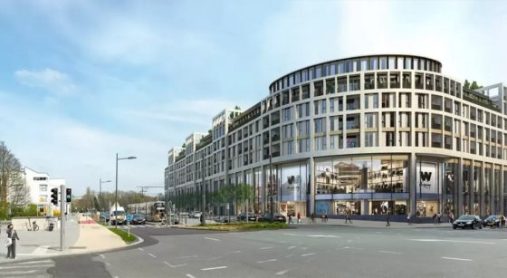 Projet Extension Woluwe Shopping Center - Eurocommercial Properties