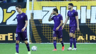 Football : Anderlecht s'incline 1-0 face à Genk
