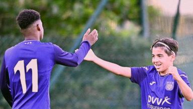 Football U17: le RSCA inflige une correction au PSG (5-2)