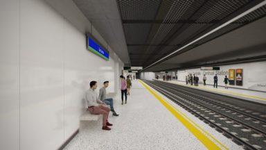 La rénovation de la station de métro de la gare centrale finalement prévue en 2022