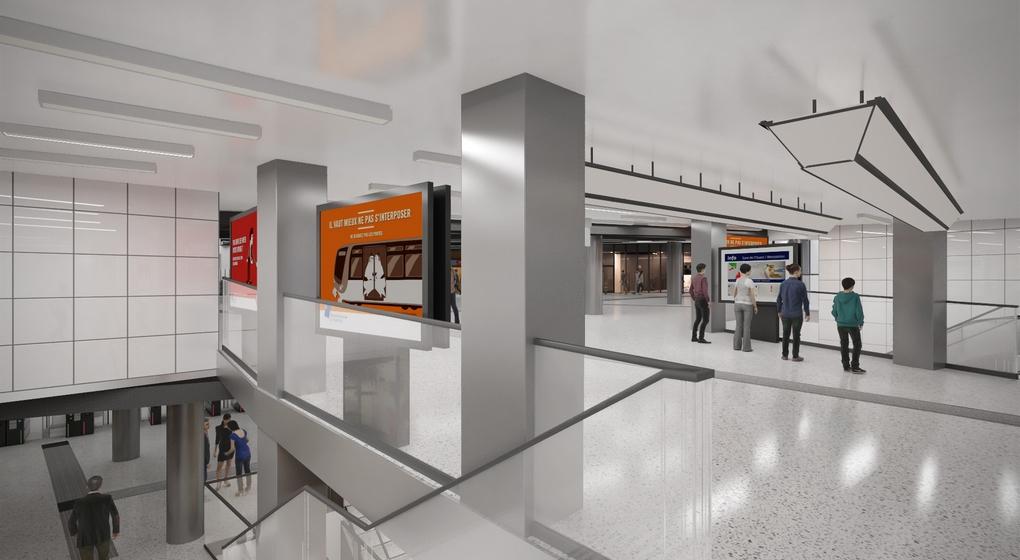 Rénovation Métro Gare Centrale Bruxelles-Central - Image 6 - Stib