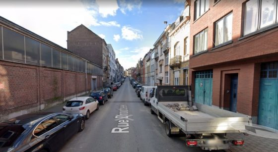 Rue Drootbeek Laeken - Capture Google Street View