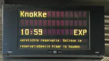 Départ vers la mer : de longues files d'attente à la Gare du Midi